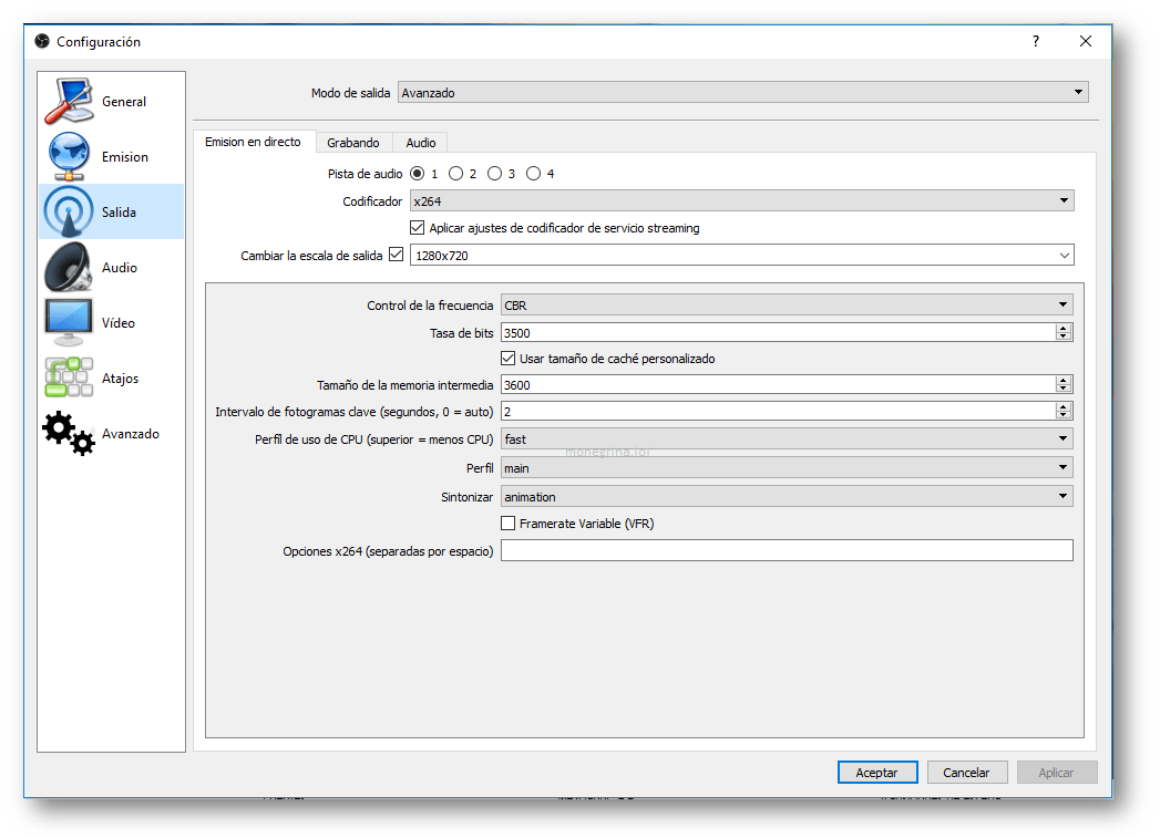 ¿Cómo configurar OBS Studio para transmitir en Twitch? 4