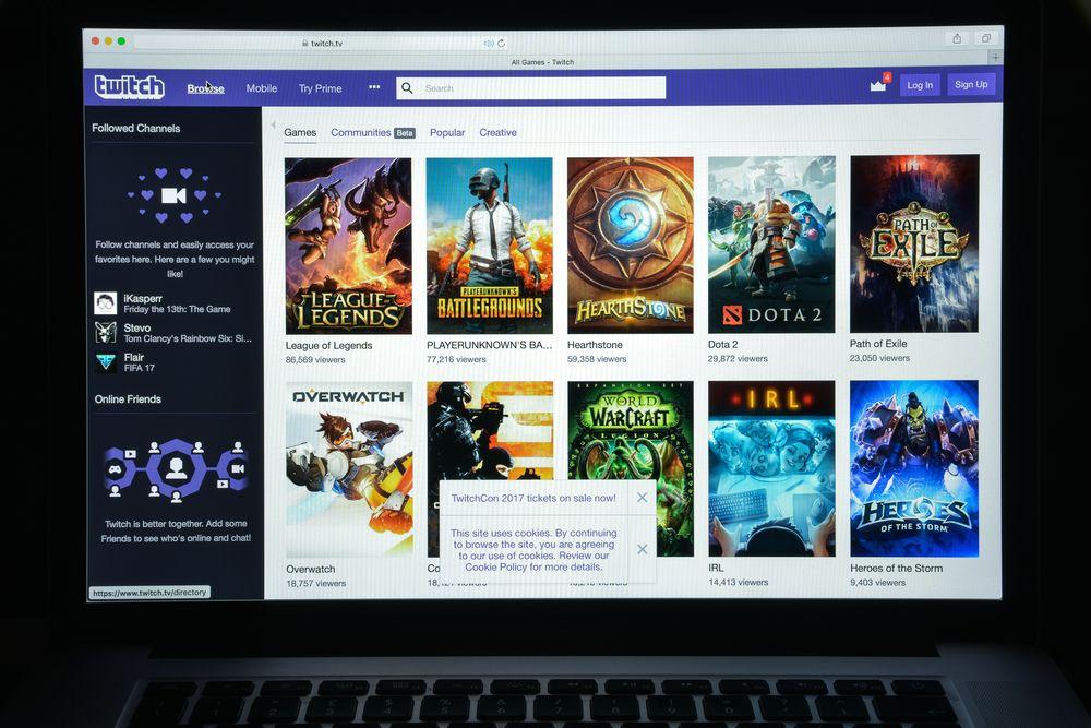 Los 5 videojuegos con más viewers en Twitch 2017