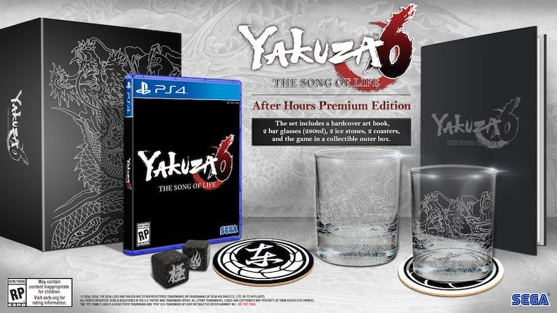 Yakuza6 edición coleccionista