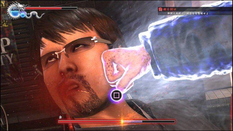 Yakuza6 gameplay ps4