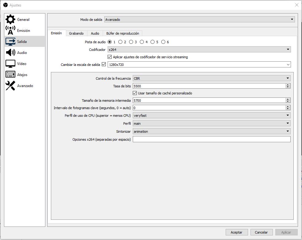 ¿Cómo configurar OBS Studio para transmitir en Twitch? 5