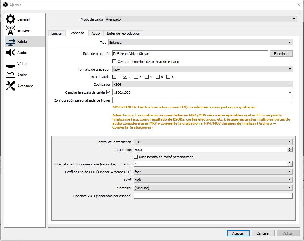 ¿Cómo configurar OBS Studio para transmitir en Twitch? 6